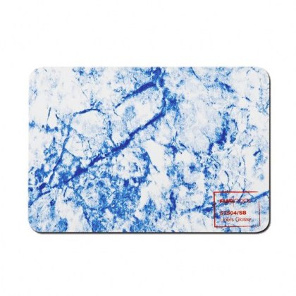 Flagpool Marble Sky Blue 1,5mm